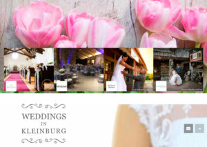 screenshot from Wedding in Kleinburg website